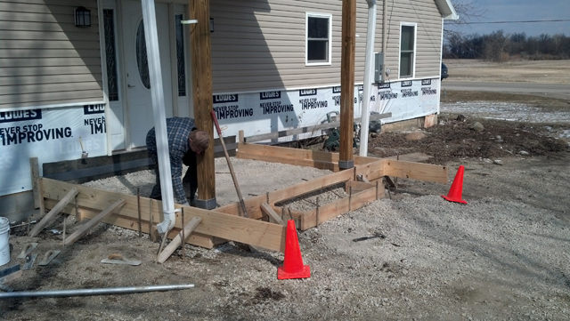 Concrete division butler home builders for Concrete home contractors